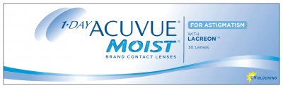 Johnson&Johnson 1-day Acuvue Moist for Astigmatism